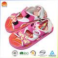 2014 China de alta qualidade barato fit crianças de sandália em rosa