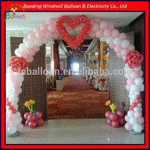 Various colors balloon decoration design