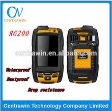 Quad Band IP-67 Anti-shock Anti-Dust Waterproof Mobile 3g rugged and wateproof mobile phone rg200