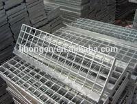 galvanized stair treads,steel staircase