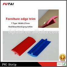 Meubles en plastique Flexible moulure de bord