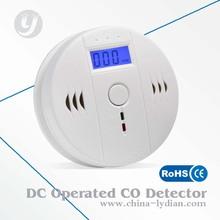 CO Carbon Monoxide Smoke Detector Gas Fire Warning Alarm Battery-operated Alert
