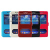 Mix size Mix color Slim leather smart universal case for cellphone