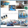 top quality tire crumbing machine/used tire recycling equipment