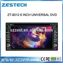 ZESTECH 6.2 inch Universal Car sat nav gps satellite radio auto dvd caraudio video systems