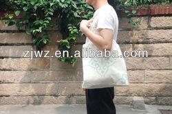 plain cheap blank cotton bags with handles