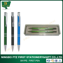 Good Quality Metal Pen And Pencil Set For Gift