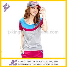 super soft cotton lady's t-shirts, colourful lady's t-shirts, cotton casule t-shirts
