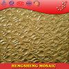 mosaic wholesale glass vases art mosaic glass plates foshan glass mosaic Golden Glass Mosaic Tiles P7