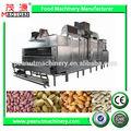 Contínuo de amêndoas/amendoim/caju máquina de assar castanha/secador
