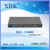 XDK outdoor ONU 8FE FTTB ONU GEPON ONU with CATV for fiber network solution