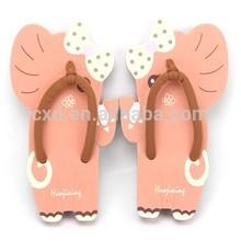 Cute cartoon summer eva flip flops