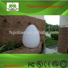 Novelty light magic led egg wireless plastic lighting