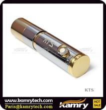 Original kamry telescopic mod kts e-cig, telescopic storm e cigarette kts wholesale--gold