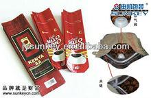 foil coffee bean bags packaging
