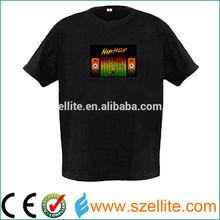 Cool party hip hop led t-shirt 2015
