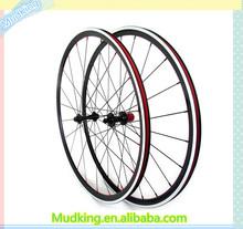 Aluminium alloy carbon wheels. china cheap road bike wheels. excellent carbon wheels for sale