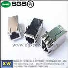 ROHS/UL single port rj45 pcb modular jack