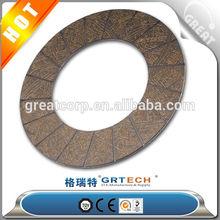 Clutch disc facings