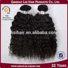 Alibaba China supplier virgin remy short hair brazilian curly weave