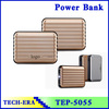 Portable dual usb luggage power bank for smart mobile phone 12000mah
