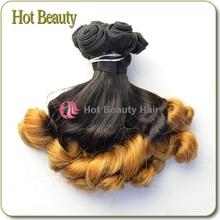 New Arrival 7Adark two tone honey blonde brazilian hair weave