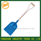 korea type flat head shovel spade with wooden handle
