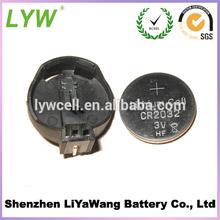 3 volt Cr2032 button cells battery factory