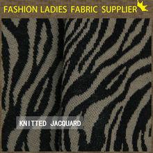 wool fabric double sided knit jacquard knitting fabric