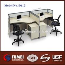 Ofis mobilyaları ofis iş istasyonu 4 insanlar yok. Ms-d112