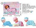 hot vente 13 3pouce baby doll réel avec le son et la danse