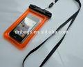 Eco- ambiente a prueba de agua de pvc accesorio del teléfono celular para blackberry 10 alfa dev