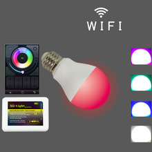 FUT014 RGB color changing 600LM Like Hue Iphone and andriod smartphone Iphone Control Lighting wifi bulb led