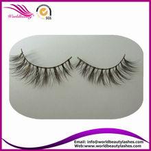 brown color false eyelash natural siberian mink hair beauty supply wholesale price fake eyelashes