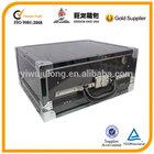 Black ABS Fingerprint security case,hard tool cabinet