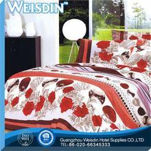 satin fabricGuangzhou modern print adult bedsheet