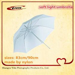 """83cm 33"""" Photography Pro Studio Reflector Translucent White Diffuser Umbrella"""