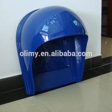 Fiberglass telephone booth,gel coat hand lay up fiber glass telephone booth