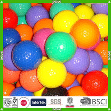 Professional selling bulk high-quality water soluble practice golf ball