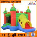 De dibujos animados inflable castillo / casa salto inflable / inflable casa de la despedida