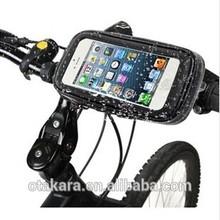 High quality professional designed waterproof dustproof seismic design bike mount mobile phone bag