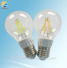 New led bulb emitting light A60 4W 5W 6W 8W dimmable edison led bulb