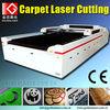laser carpet cutting equipment for floor carpet mat
