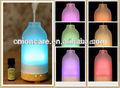 Vidro aromaterapia nebulizador, vaporizador elétrico, difusor de aroma, spa difusor do óleo essencial w/7- cor- mudança led-gh2186a