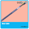 oil resistant flexible data cable in drag chain system robot servo cable