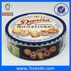 beautiful big round biscuit tin, canned food storage tin box