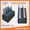Puerto 32 wifi gsm módem/a granel de sms módem/gsm sms gateway