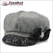 baratos flat top sombreros fedora con cordón