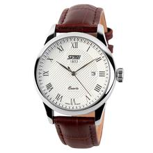Vogue Japan Movt Quartz Business Leather Strap Analog Quartz Watches with Wholesales Price New Model # 9058