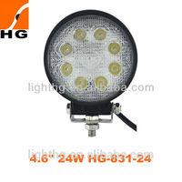 Good feedback led working light,4x4,mine auto 24w led work light Model:HG-831